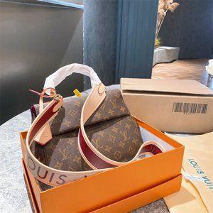 LouisVuittonMonogramClooneyBBM42738ShoulderBaghandbag